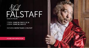 """In Review: Edward Parks as Ford in """"Falstaff"""" at DMMO"""