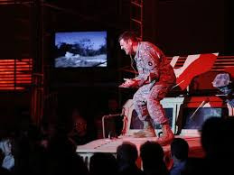 """In Review: Mayes stars and McIntyre directs DMMO's """"Soldier Songs"""""""
