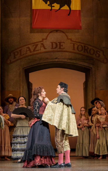 "Corey Crider a ""wonderful"" Escamillo in Madison Opera ""Carmen"""