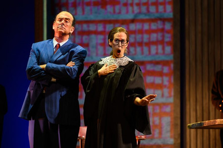 """Zetlan """"delivers an invincible, articulate and sympathetic Ginsburg"""" in Opera Delaware &qu"""
