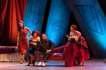 "In Review: Apostolou in Syracuse Opera's ""The Threepenny Opera"""