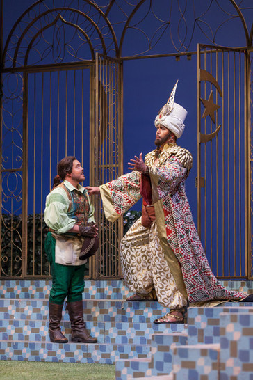 """In Review: Tyson Miller as Utah Opera's Pedrillo in """"The Abduction from the Seraglio"""""""