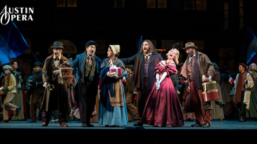 "In Review: Biller and Bouley impress in Austin Opera ""La bohème"""
