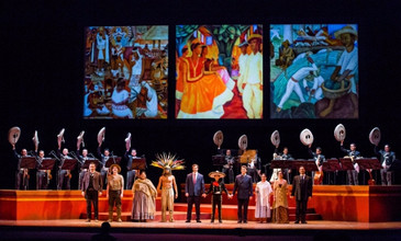 "In Review: Montenegro in ""El Pasado Nunca se Termina"" with the Lyric Opera of Chicago"