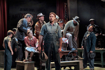 "Hernandez gives a ""moving"" performance as Pa Joad in OTSL ""The Grapes of Wrath"""