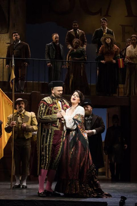"Opera News hails Parks and Crawford in ATL ""Carmen"""