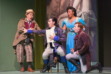 """Opera News applauds Ollarsaba for his """"sizeable, creamy bass-baritone"""" in Wolf Trap """""""