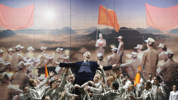 "Mayes ""perfect"" in ""Nixon in China"" with Staatsoper Stuttgart"