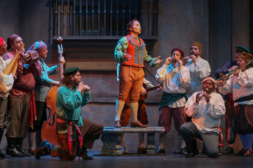 "Abreu brings his ""smooth and ardent tenor"" to Eugene Opera's ""Il barbiere di Sivi"