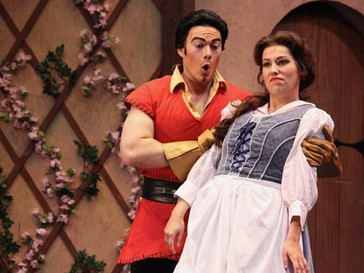 "In Review: John Riesen as Gaston in ""Beauty and the Beast"" at Shreveport Opera"