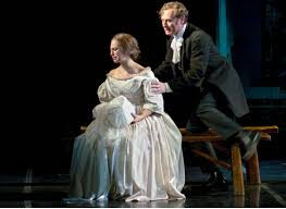 "Opera News reviews Katrina Thurman as Blanche Ingram in ""Jane Eyre"" at the Center for Cont"