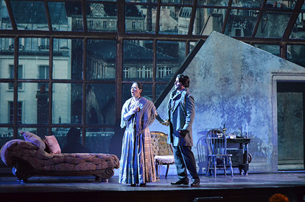 """In Review: Calenos and Whitney in Cleveland Opera Theater's """"La bohème"""