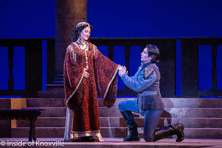 """Whitney lends his """"romantic lyrical tenor"""" to Knoxville Roméo"""