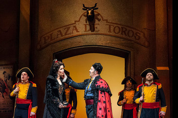 "Corey Crider gives a ""riveting"" performance in Lyric Opera of Kansas City ""Carmen"""