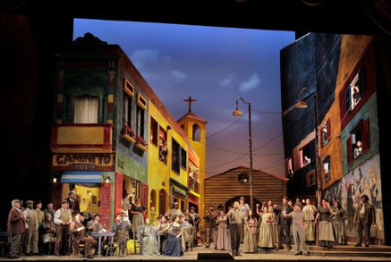"Krumm brings ""rich vocal color and sheer self-assurance"" to ""Cavalleria rusticana&quo"