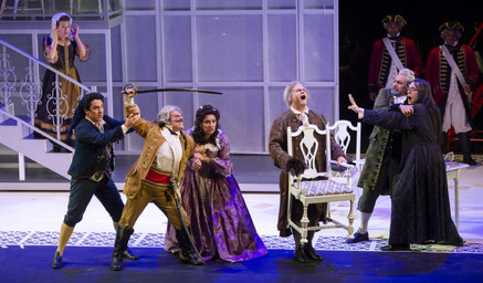 "In Review: Kathleen Belcher, Daniel Belcher, and Marco Nistico in Chautauqua Opera's ""Il ba"