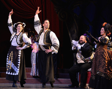 """Opera News hails Tsirakoglou's """"uncommonly well sung Frank"""" in New Orleans Fledermaus"""
