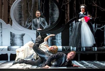 The reviews are in for Cassandra Zoé Velasco and Jason Slayden for Gotham Chamber Opera's Double Bil