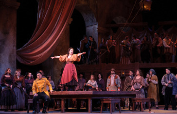 """Opera News gives rave review to Faircloth, Tucker, Bowers, & Tweten for Utah Opera's """"C"""
