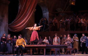 "Opera News gives rave review to Faircloth, Tucker, Bowers, & Tweten for Utah Opera's ""C"
