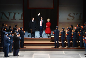 "In Review: Krause and Barron in Princeton Festival "" Nixon in China"""