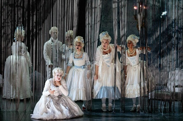 "In Review: Colaneri and Latini in The Glimmerglass Festival's ""The Ghost of Versailles&quot"