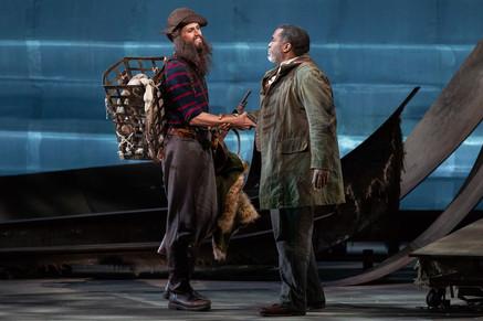 "Opera News: Thompson brings ""mahogany-timbered"" bass to Glimmerglass Festival ""Vixen&"