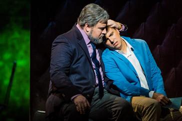 """Bouley impresses with his """"rich baritone"""" in Glyndebourne """"La Traviata"""""""