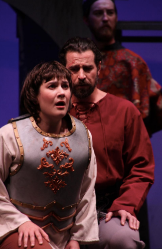 """In Review: Rosen and Jeremiah in Opera Company of Middlebury's """"Maid of Orleans"""""""