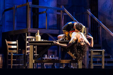 """Beruan reigns as the stand out actor of the cast as """"Zuniga"""" in the Lyric Opera of Kansas"""
