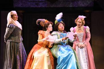 "The reviews are in for Karen Slack, Dana Beth Miller, and Javier Abreu in Arizona Opera's ""Falstaff"""