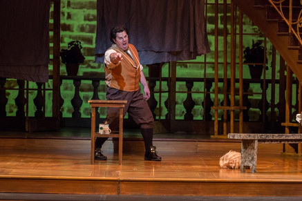 "Opera News applauds Barron for his ""bright, focused singing"" as Opera Carolina's Figar"