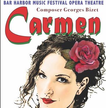 """In Review: Babcock and Ollarsaba in Bar Harbor """"Carmen"""""""