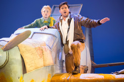 1 - Henry Wager as The Little Prince and Christian Bowers as The Pilot - photo Scott Suchman
