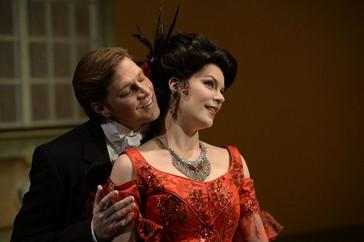 Opera News praises Gartland's role debut as Violetta with Utah Opera