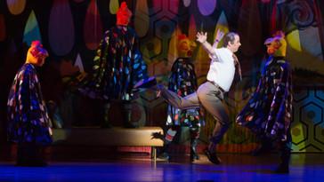 "The Washington Post praises Matthew Burns for his turn as Dr. Bartolo in Virginia Opera's """