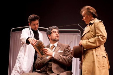 """In Review: McEuen and Wood in """"The Man Who Mistook His Wife for a Hat"""" at UrbanArias"""