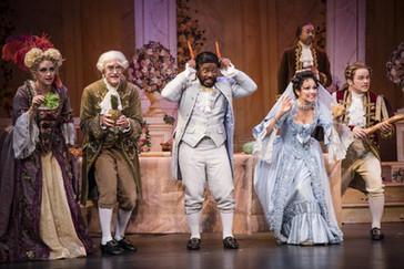 """The reviews are in for Baritone Sidney Outlaw in Greensboro Opera's """"La Cenerentola""""!"""