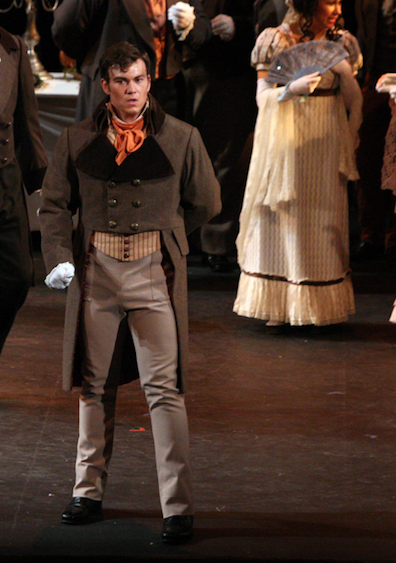Lensky in Eugene Onegin Chautauqua Opera