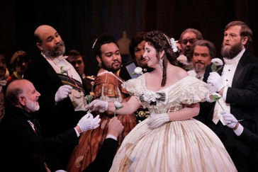 "In Review: Larkin receives ""highest praise"" for Portland Opera ""La Traviata"""
