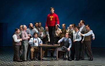 "In Review: Morgan impresses in Florentine Opera's ""Elmer Gantry"""