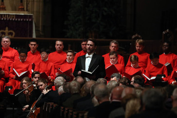 """New York Times: Blumberg """"stole the show"""" in St. Thomas Choir """"Messiah"""""""