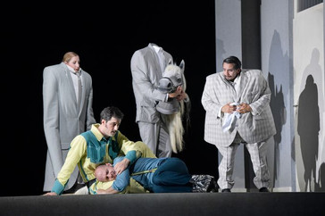 "Carico garners rave reviews for his Sancho Panza in ""Don Quichotte"" at Deutsche Oper Berli"