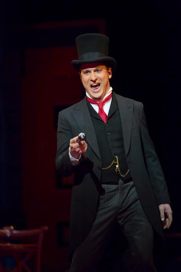"Opera News celebrates Jesse Blumberg as Njegus in BLO's ""The Merry Widow"""