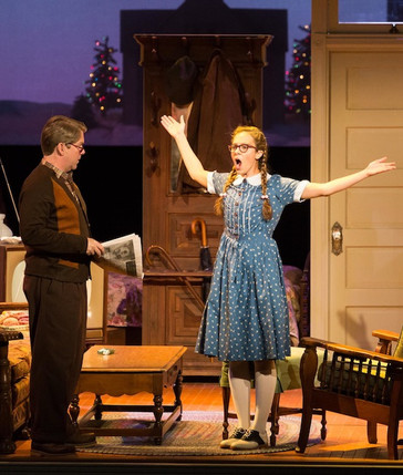 """In Review: Belcher in HGO's """"A House without a Christmas Tree"""""""