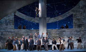 "In Review: McIntyre, Mechavich, and Irvin in ""stunning"" ""Moby Dick"" at Utah Oper"