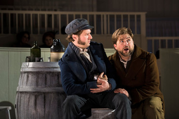 "In Review: Blumberg and Angus in BLO's ""Burke & Hare"""