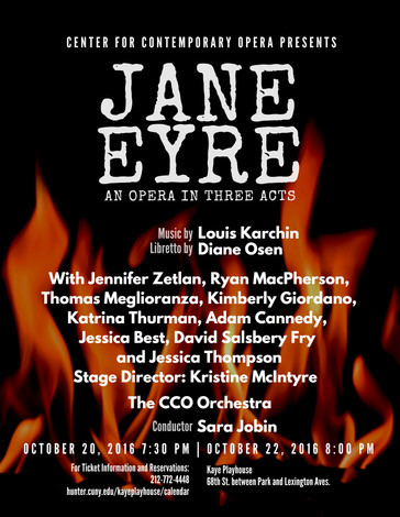 """In Review: McIntyre, Thurman receive raves for """"Jane Eyre"""" with the Center for Contemporar"""