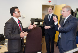Meeting with HRH Duke of York