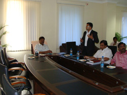 With AP Minister Sri G Srinivasa Rao